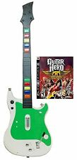 NEW PS3 GUITAR HERO Controller + Aerosmith Video Game Kit bundle set play sony