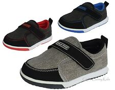 New Boys Baby Toddler Tennis Shoes Canvas Casual Kids Sneakers Slip On Loafers