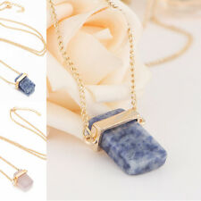 Hot Sale Necklace Gold Plated Cubic Zirconia GemStone Fashion Pendant Chain Gift