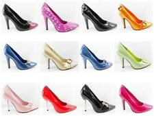 High Heel Courts - Ladies high heel Shoes - Womens shoes Sizes 2 3 4 5 6 UK