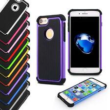 Shock Proof Hybrid Hard Silicone Builder Case Cover For Apple iPhone 7/7 Plus
