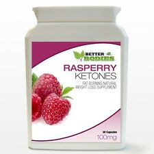 100mg Raspberry Ketone Diet Weight Loss Slimming Fat Burn Capsules Bottle