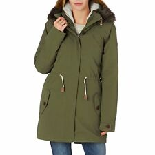 Roxy Coats - Roxy Amy 3 In 1 Sherpa Jacket - Military Olive
