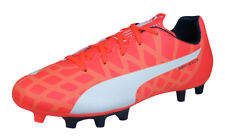 Puma evoSPEED 5.4 FG Boys Football Boots / Cleats - Orange