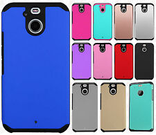 For Sprint HTC BOLT HARD Astronoot Hybrid Rubber Silicone Cover +Screen Guard