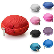 New Case Mini Portable Headphone Earbud Carrying Storage Bag Coin Pouch Cover
