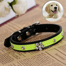New Design Rhinestone Collar Flower Studded Collar For Small Dogs Pet Necklace