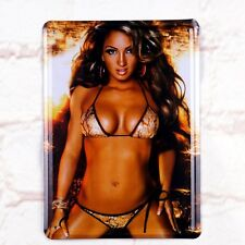 Tin Sign Sexy Tin Up Girl Adult Art Bikini Metal Retro Home Pub Bar Wall Decor