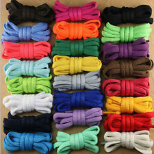 "Pair Round OVAL 47"" Athletic Shoe Laces Shoelace BOOTLACE Strings  Sneakers Boot"