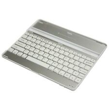 For iPAD ULTRA SLIM BLUETOOTH KEYBOARD WIRELESS ALUMINUM CASE TABLET STAND DOCK