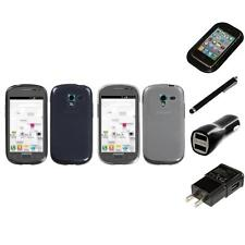 For Samsung Galaxy Exhibit T599 TPU Rubber Skin Flexible Case Cover Charger