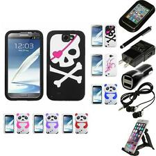 For Samsung Galaxy Note 2 N7100 Silicone Design Skin Soft Phone Case Accessories