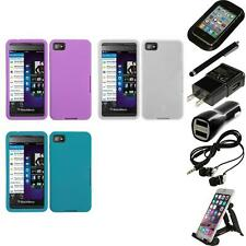 For BlackBerry Z10 Silicone Skin Rubber Soft Case Phone Cover Accessories