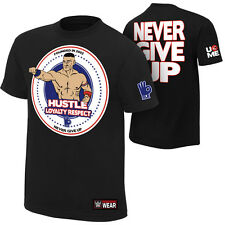 New Wrestling Hot WWE John Cena T-Shirt Package Tagged cloths RAW 017