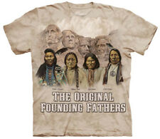 Original Founding Fathers Native Americans Adult T-Shirt Tee