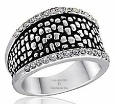 DaVinci Beads Silver Dot Ring - DR104-8 -Brand New - Several Sizes