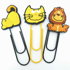 NOVELTY ANIMAL BOOKMARK, GIANT PAPER / MEMO CLIP. STOCKING FILLER, PARTY BAGS
