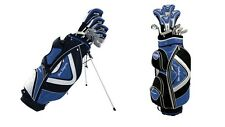 BEN SAYERS M15 PACKAGE KIT COMPLETE SET GOLF CLUBS (BLUE) CHOICE OF BAG & SHAFTS