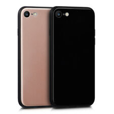 PLASTIC PROTECTIVE COVER FOR APPLE IPHONE 7 8 BACK COVER TPU SILICON FRAME