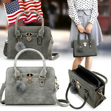 Hot Handbag Shoulder Bag Tote Purse New Fashion Faux Leather Women Messenge Hobo