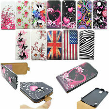 Flip Leather Card Slot Phone Pouch Cover Case For Samsung Galaxy S3 S4 S5 Note 4