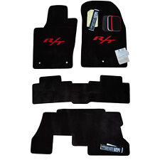 Dodge Durango R/T Floor Mats - R/T Embroidery - Custom Fit - Made in USA
