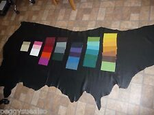 Leather HIDE Side your choice of color 18-22 sq ft DIVINE 2-2.5oz / .8-1 mm