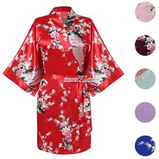 New Fashion Sexy Women Ladies Pajamas V-Neck Satin Loose Nightwear Dress S0BZ