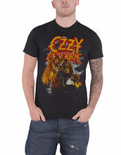 Ozzy Osbourne T Shirt Vintage Werewolf logo new Official Mens Black
