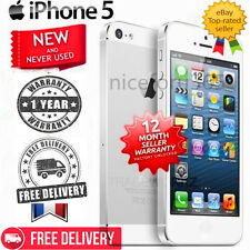 (NEW SEALED BOX) Apple iPhone 4s 5 - 4G Smartphone - 16 32 64 GB Unlocked! FF99