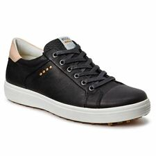 ECCO Casual Hybrid Hydromax Spikeless Waterproof -Leather Mens Golf Shoes