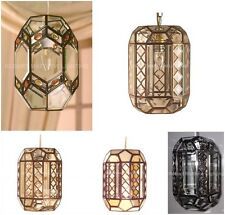 Bevelled Glass Lantern Ceiling Pendant Shades collections RM19 RM20
