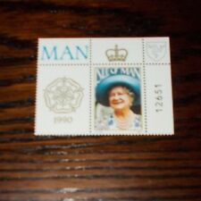 ISLE OF MAN MINT STAMPS 90TH BIRTHDAY HM QUEEN ELIZABETH QUEEN MOTHER CHOOSE SET