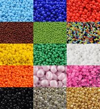 50g Glass Seed Beads - Size 11/0 - Approx 2mm - Jewellery Making - Rocailles