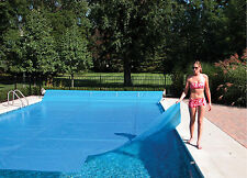 16 Mil Heavy Round, Oval & Rectangle Swimming Pool Solar Blanket Heater Covers