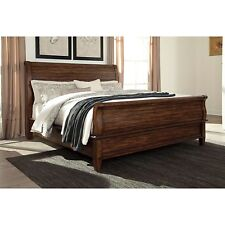 Signature Design by Ashley Chaddinfield Brown Sleigh Bed