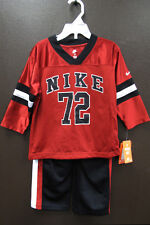 New NIKE Toddler Boys T-Shirt & Pant 2-Piece Set, Size 2T 3T 4T MSRP $42 NWT
