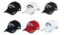 2016 CALLAWAY TOUR AUTHENTIC PERFORMANCE ADJUSTABLE GOLF CAP (VARIOUS COLOURS)