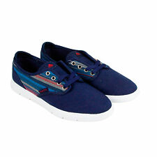 Emerica Wino Cruiser Lt Mens Blue Textile Lace Up Sneakers Shoes
