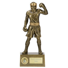 "BOXING Boxer Trophy 8.5"" or 9.5"" FREE ENGRAVING Engraved Knockout Statue Award"