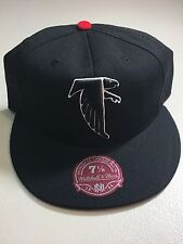 ATLANTA FALCONS MITCHELL & NESS NFL FITTED HAT FREE SHIPPING