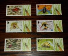 * JERSEY MINT STAMPS INSECTS (2ND SERIES) 2008 -  CHOOSE DESIGN SET
