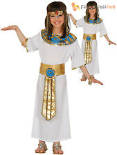 Boys Egyptian Queen Costume Childs Cleopatra Fancy Dress Book Week Day Outfit