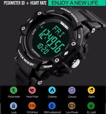 Sport Men Heart Rate Monitor Pulse Pedometer Calories Counter Fitness Watch M32