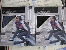 NWT Cuddl Duds Women's Warm Layer  ACTIVE TECH PERFOR. LEGGING  CHOSE CLR&SIZES