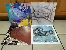 Chicago lp lot of 4 record albums shrink wrap