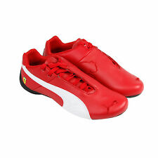 Puma Sf Future Cat Og Mens Red Synthetic Athletic Lace Up Running Shoes