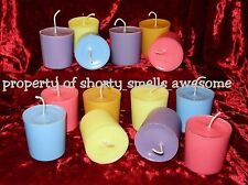 100% Soy Candle Votive Candles Scented One Dozen 12 Choice You Pick Scent N - W