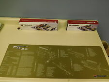 AR-15 TekMat Rifle Cleaning BENCH Mat Non Slip backing OLIVE DRAB W/PARTS LIST