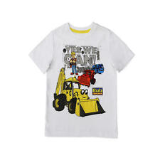 "Bob the Builder White ""Yes We Can"" Printed T Shirt - Infant/Toddler"